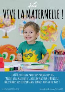 tract vive la maternelle